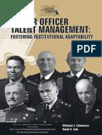 Senior Officer Talent Management