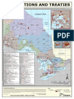 First Nations and Treaties Map