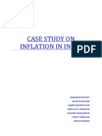 Case Study on Inflation in India