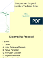 Penyusunan Proposal PTK