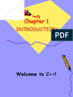 C++ Chapter 1 Introduction