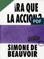 Beauvoir, Simone de