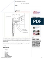 Gambar Detail Talang Beton _ Rencanarumah
