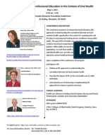 IPE Oral Health Conference2014