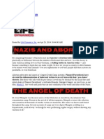 Nazis and Abortion