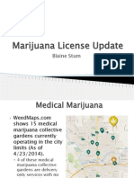 Marijuana Subcommittee Update April 28 - Spokane Washington