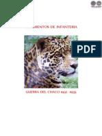 REGIMIENTOS DE INFANTERIA - GUERRA DEL CHACO 1932 A 1935 - QUIROGA - PORTALGUARANI