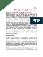 Anlisis Jurisprudencial Del Amparo Constitucional