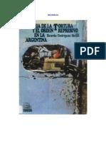 Rodríguez Molas, Ricardo - Historia de La Tortura y El Orden Represivo en La Argentina