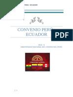 Monografia Ecuador - Peru