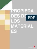 Propiedades de Los Materiales - Monografía