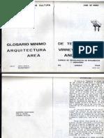 Glosario Terminos Arquitectura Virreinal Reducido