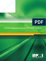 PMI RMP Handbook 28 April 2014