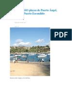 08/04/14 ellibertadoroaxaca Monitorea SSO playas de Puerto Ángel