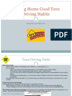 driving home good teen driving habits