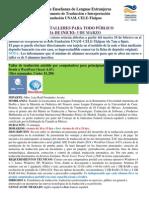 Talleres Dti Publico Gral 2014-II Ampliación Del Plazo