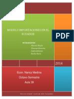 Modelo Importaciones en El Ecuador Final