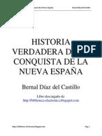 Conquista Nueva Espana Bernal Diaz Del Castillo