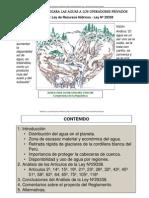 Analisis II Ley Aguas 29338