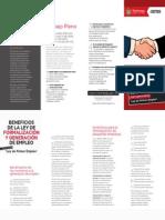 Doc. 588 BENEFICIOS DE LA LEY DE FORMALIZACION Y GENERACION DE EMPLEO.pdf