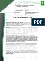 Doc. 585 GLOSARIO DE TERMINOS CREE Y RENTA.pdf