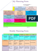 weekly lesson plan 258