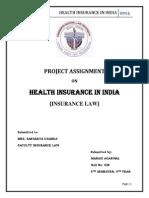 Manasi Insurance Law