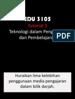 Tutorial 3 EDU 3105