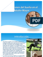 Alteraciones Del Sueno en El Adulto Mayor