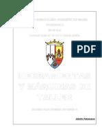 HERRAMIENTAS Y MAQUINAS DE TALLER