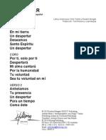 AWAKENING - Spanish Official Translation