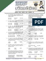 Aritmética - 3er Año - II Bimestre - 2013