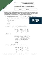 Solucion Del Examen de Matematica UNEY Tema III