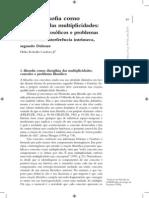 Cardoso Jr, H. Arte e Filosofia Como Disciplinas Das Multiplicidades - Problema Filosóficos e Problemas