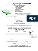Lisle Chamber Spring Classic Golf Outing 2014