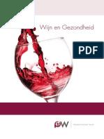 Productschap Wijn Brochure Wijn en Gezondheid