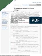 Ordenar Arreglo Por Método Burbuja en Pseudocódigo - Wiki