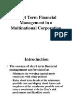International financial management in MNC