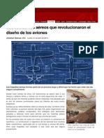 Accidentea Aéreos y Diseño de Aviones