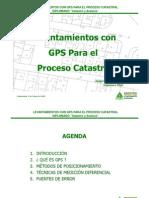 Levantamientos con  GPS Para el  Proceso Catastral