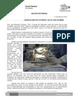 21/04/14 CIRUGÍA DE ALTA ESPECIALIDAD EN TUXTEPEC, SALVA VIDA DE BEBÉ