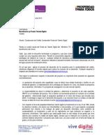 Comunicado Proyecto Condonación Fondo Talento Digital