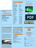 Cfd Workshop Brochure