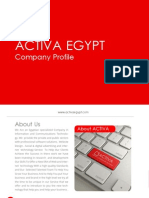 ACTIVA EGYPT Company Profile FacePages