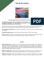 Test de los colores - E.doc