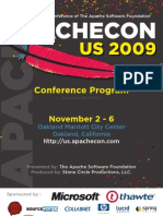 ApacheCon US 2009 Program Guide