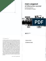 Angenot 2012 - El Discurso Social - Cap 1 al 3.pdf