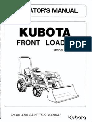 Kubota Front Loader La 211 | Loader (Equipment) | Tractor