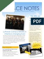 lcm newsletter grace notes spring 2014