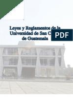 manuales y Leyes de la Universidad de San Carlos de Guatemala